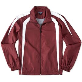 Sport-Tek Full Zip Colorblock Warm-Up Jacket