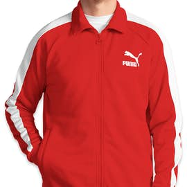 Puma Iconic T7 Track Jacket - Color: High Risk Red