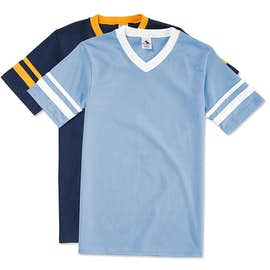 Augusta Double Sleeve Stripe Jersey T-shirt