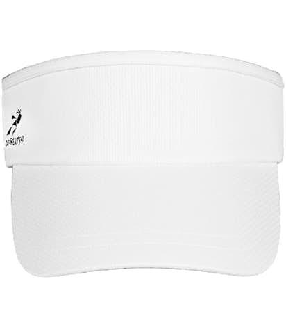 Team 365 Headsweats Performance Running Visor - White