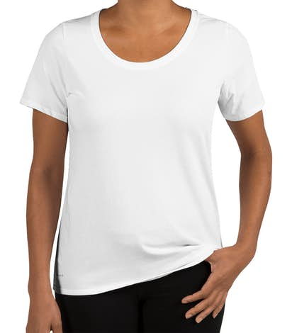 Nike Dri-Fit Women's Performance Blend Shirt - White