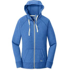 New Era Women's Sueded Lightweight Zip Hoodie