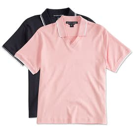 Canada - Devon & Jones Women's Tipped Pima Interlock Polo