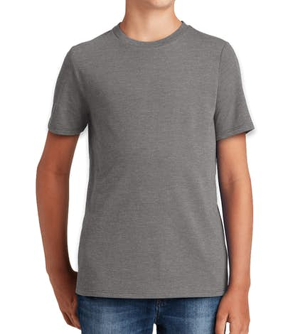 District Made Youth Relaxed Tri-Blend T-shirt - Grey Frost