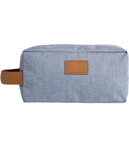 Heathered Toiletry Dopp Kit - Blue