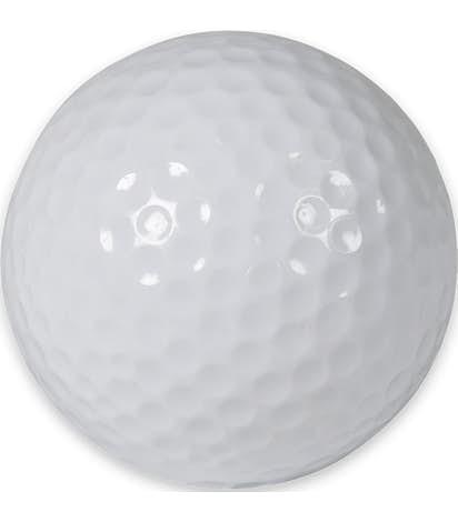 White Golf Ball - White