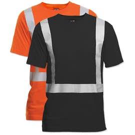 Bayside USA-Made Reflective 100% Cotton T-shirt