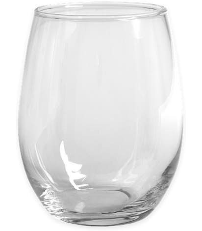 15 oz. Stemless Wine Glass - Clear