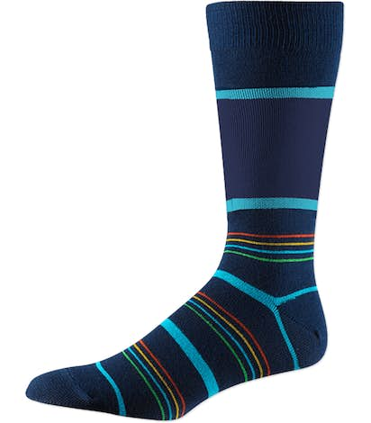 Business Crew Dress Socks - Navy Spectrum