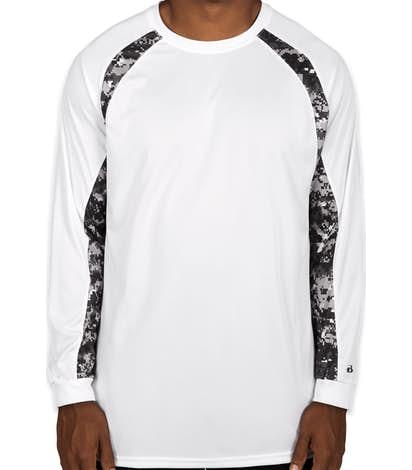 e35c80bd2 Custom Badger Digital Camo Long Sleeve Performance Shirt - Design ...