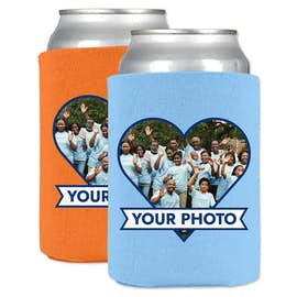 Full Color Photo Can Cooler