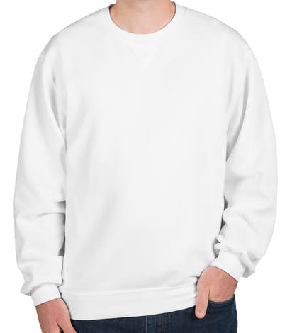 Custom Fruit of the Loom Soft Spun Crewneck Sweatshirt - Design ... 293da28ad