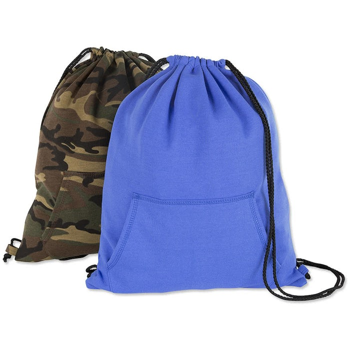 Port Company Sweatshirt Drawstring Bag
