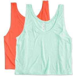 Bella + Canvas Women's Flowy Crop Tank