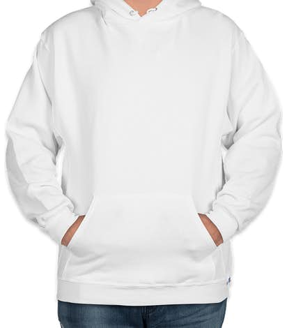 Russell Athletic Dri Power® Pullover Hoodie - White