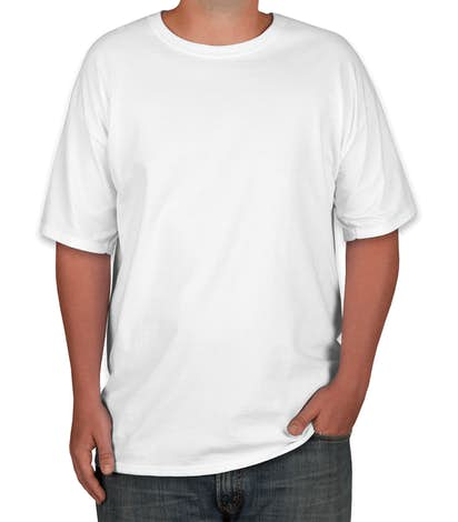 fb7bc661 Custom Hanes Tall Beefy-T - Design Short Sleeve T-shirts Online at ...