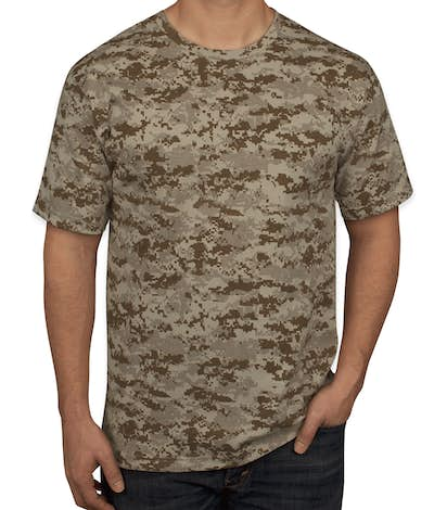 1ded3f63 Custom Code 5 Digital Camo T-shirt - Design Short Sleeve T-shirts ...