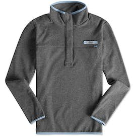 Columbia Women's Harborside Quarter Zip Snap Fleece Pullover
