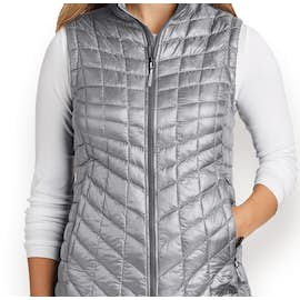 The North Face Women's ThermoBall Trekker Vest - Color: Mid Grey