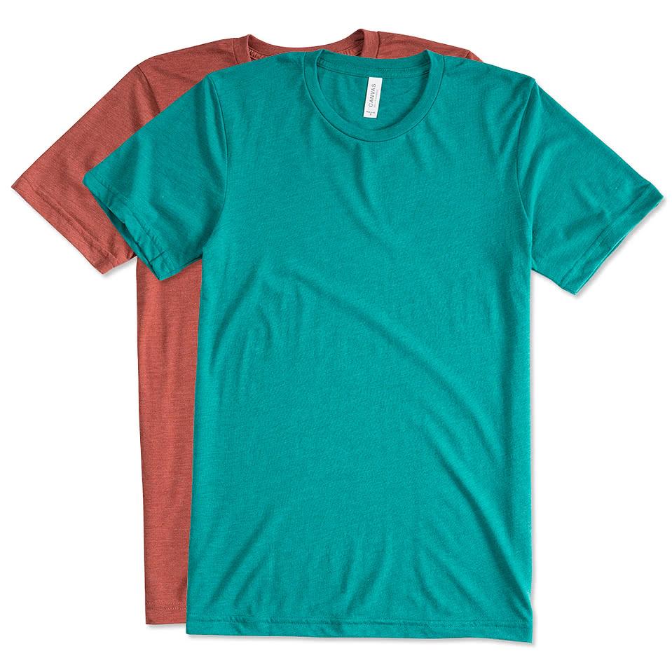 Canada Bella + Canvas Tri Blend T shirt