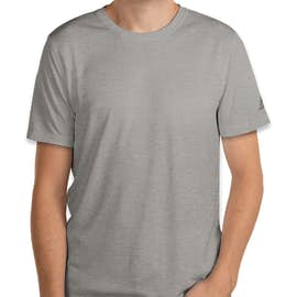 Adidas Heather 100% Recycled UPF Performance Shirt - Color: Grey Three Heather