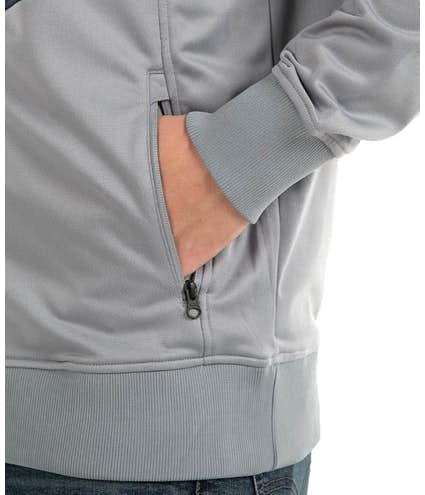 0b9d36442 The North Face Color Blocked Tech Full-Zip Fleece Jacket