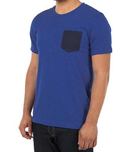 008563fe0856 Custom Bella + Canvas Jersey Contrast Pocket T-shirt - Design Short ...