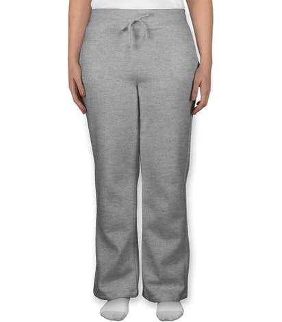 Canada - Gildan Women's Open Bottom Sweatpants - Sport Grey