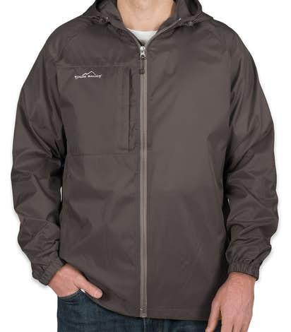 11155f523ab Custom Eddie Bauer Full Zip Hooded Packable Jacket - Design ...