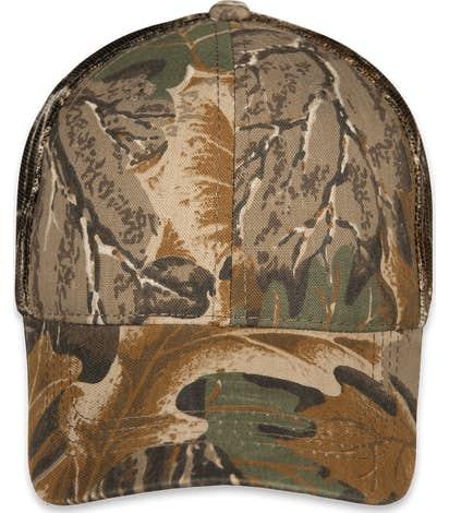 Outdoor Cap Camo Trucker Hat - Advantage Classic