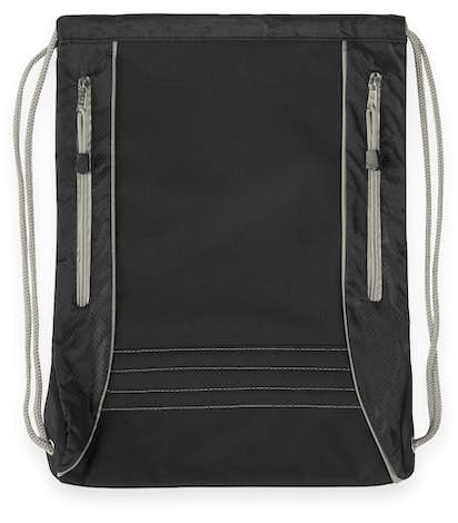 Challenger Sport Drawstring Bag - Black / Grey