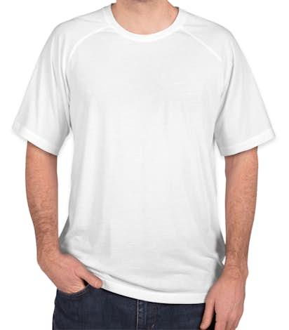Sport-Tek Tri-Blend Performance Raglan T-Shirt - White