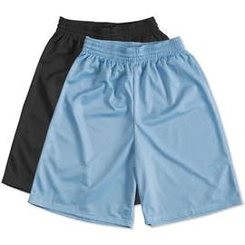 Teamwork Fadeaway Mesh Basketball Shorts