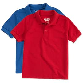 Gildan Youth Dryblend Double Pique Polo