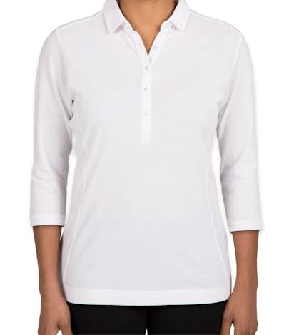 Port Authority Women's Coastal Blend Polo - White