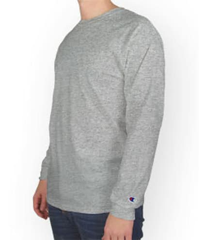 0223da6e Design Custom Printed Champion Tagless Long Sleeve T-Shirts Online ...