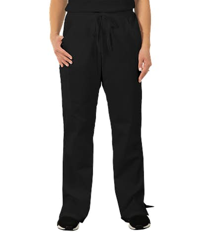 Dickies Women's Drawstring Scrub Pant - Black
