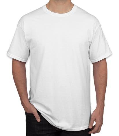 Canada - Gildan 100% Cotton T-shirt - White