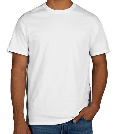 Gildan 100% Cotton T-shirt - White