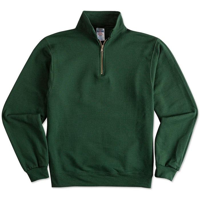 98f178947a4 Custom Jerzees Super Sweats® 50 50 Quarter Zip Sweatshirt - Design ...