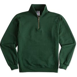 Jerzees Super Sweats® 50/50 Quarter Zip Sweatshirt