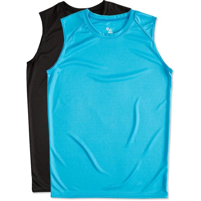 492ec363e176e Custom Badger B-Dry Sleeveless Performance Shirt - Design ...