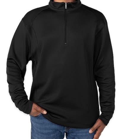 Nike Sport Quarter Zip Pullover - Black