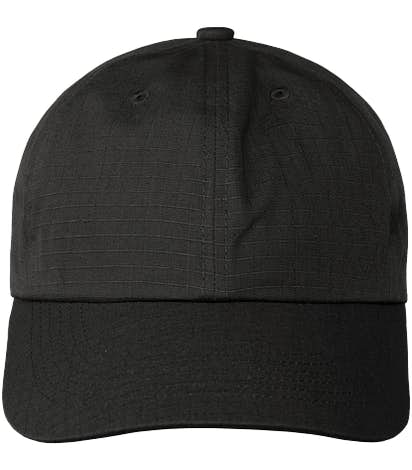 Port Authority Ripstop Baseball Hat - Black