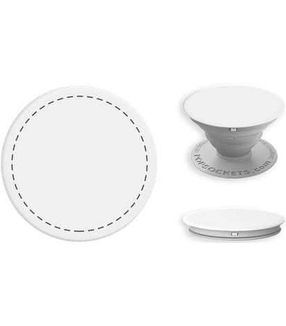 PopSocket® with Mount - White / Light Grey