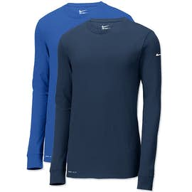 Nike Dri-FIT Long Sleeve Performance Blend Shirt