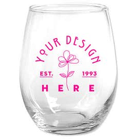 15 oz. Stemless Wine Glass
