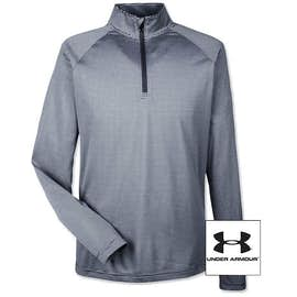 Under Armour Tech Stripe Quarter Zip Performance Shirt