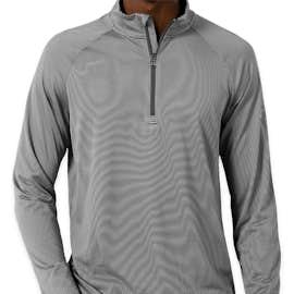 Under Armour Tech Stripe Quarter Zip Performance Shirt - Color: Graphite
