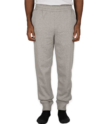 Champion Authentic Sueded Jogger Sweatpants - Oxford Grey